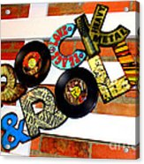 I Love Rock N Roll   Acrylic Print