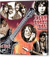 I Love Rock'N Roll Acrylic Print