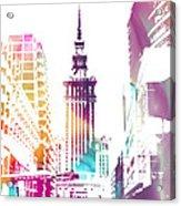I Love Warsaw Acrylic Print