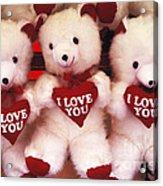 I Love You Bears Acrylic Print