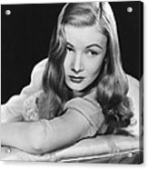 I Married A Witch, Veronica Lake, 1942 Acrylic Print