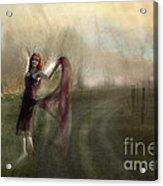 I Met An Angel On My Path Acrylic Print