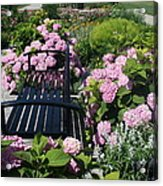I Never Promised You A Rose Garden Acrylic Print