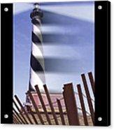 I Saw The Lighthouse Move Acrylic Print