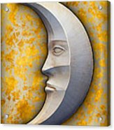 I See The Moon 1 Acrylic Print by Wendy J St Christopher