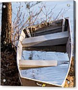 I Think The Water Goes Outside The Boat Acrylic Print