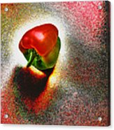 I Vote For A Really Hot Sweet Pepper Acrylic Print