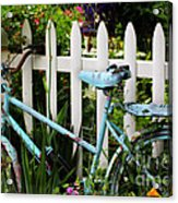 I Want To Ride My Bicycle Acrylic Print