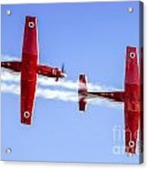 Iaf Flight Academy Aerobatics Team-a Acrylic Print