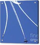 Iaf Flight Academy Aerobatics Team Acrylic Print