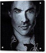 Ian Somerhalder Acrylic Print