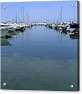 Ibiza Harbour Acrylic Print