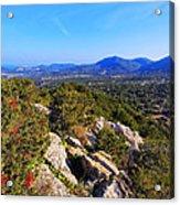 Ibiza Mountains Acrylic Print