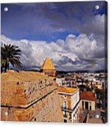 Ibiza Town Walls Acrylic Print