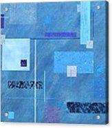 iBlue Acrylic Print