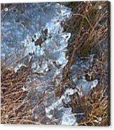 Ice Abstract Acrylic Print