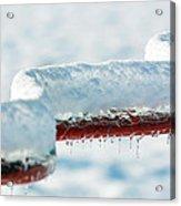 Ice And Snow-5505 Acrylic Print