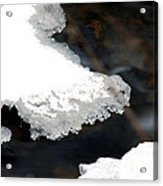 Ice And Water Acrylic Print
