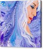 Ice Angel Acrylic Print