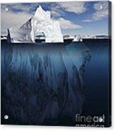 Ice Arch Iceberg Acrylic Print