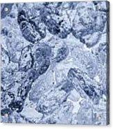 Ice Background Acrylic Print