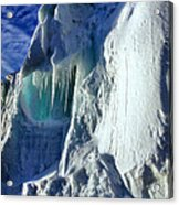 Ice Berg Up Close And Personal Acrylic Print