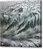 Ice Breaker Waves Acrylic Print