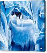 Ice Castles Painting Acrylic Print