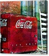 Ice Cold Coca Cola Acrylic Print