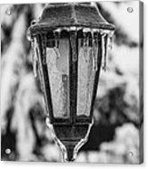Ice Covered Lantern Acrylic Print