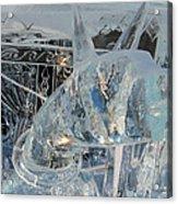 Ice Dog Acrylic Print
