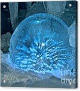 Ice Entrapment Acrylic Print