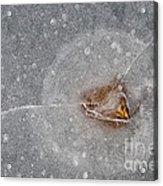 Ice Fishing Hole 10 Acrylic Print