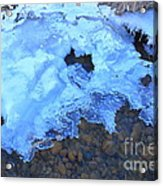 Ice Formation Acrylic Print