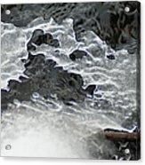 Ice Formations Viii Acrylic Print