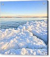Ice Goosebumps Acrylic Print