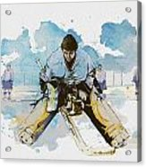 Ice Hockey Acrylic Print