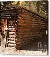 Ice House At The Holzwarth Historic Site Acrylic Print