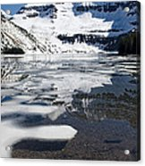 Ice In The Water Acrylic Print