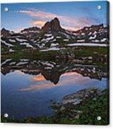 Ice Lakes Basin Sunrise Acrylic Print