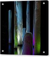 Ice Lighted Acrylic Print