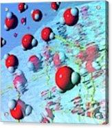 Ice Melting Acrylic Print