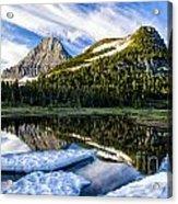 Ice Pool Acrylic Print