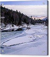 Ice River Acrylic Print