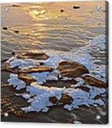 Ice Rocks Acrylic Print