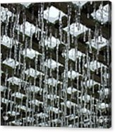Ice Sickles Acrylic Print