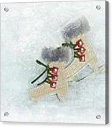 Ice Skates Acrylic Print