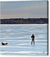 Ice Skipper Acrylic Print
