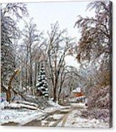 Ice Storm...day 6 Acrylic Print