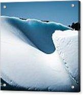 Ice V Acrylic Print by David Pinsent